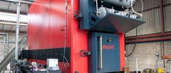 Biomass Boiler for a Plant Nursery Northern England