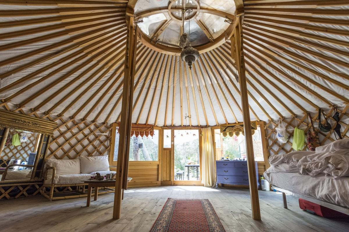Getting Into Glamping: Financing Glamping Sites and Yurts